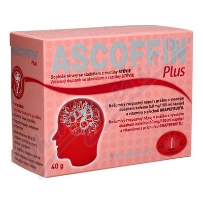 Ascoffin Plus 10 sáčků/4g nová příchuť