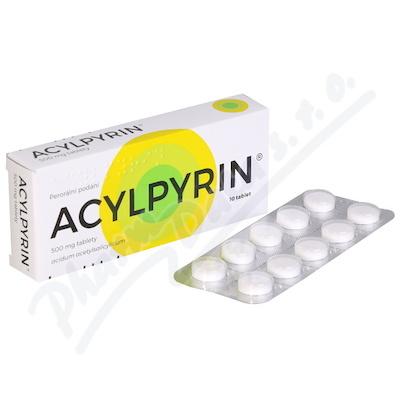 Acylpyrin tbl.10x500mg