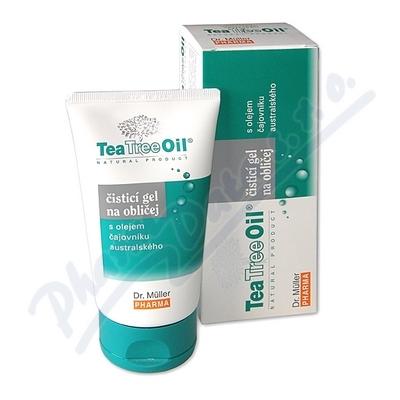 Tea Tree Oil čisticí gel na oblič.150ml Dr.Müller