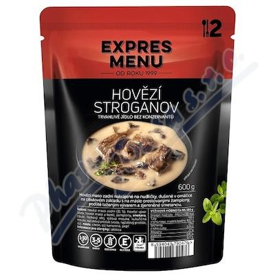EXPRES MENU Hovězí Stroganov 2 porce