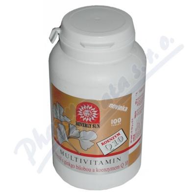 Multivitamin-min.ginkgo bilob.+koenz.Q10 tbl.100