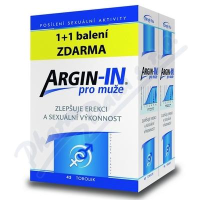 Argin-IN pro muže tob.45+Argin-IN tob.45 ZDARMA