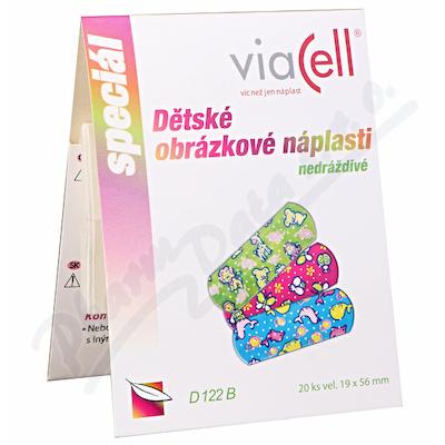 VIACELL D122B Dětské obrázkové náplasti 20ks
