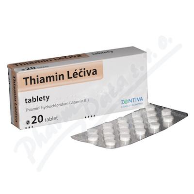 Thiamin Léčiva tbl.20x50mg (blistr)