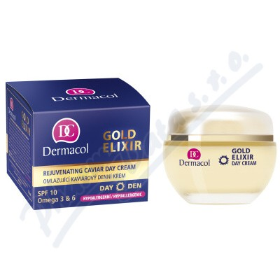 Dermacol Gold Elixir omlaz.kaviár.denní krém 50ml