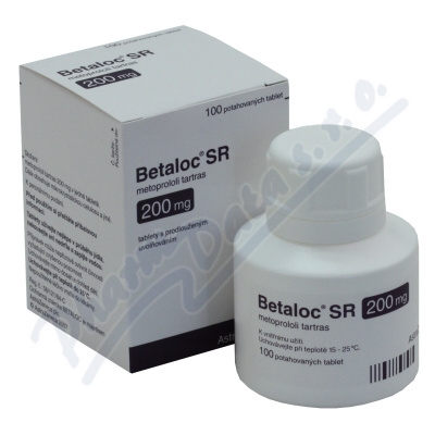Egypt Drug Index : Betaloc 100mg   metoprolol tartrate