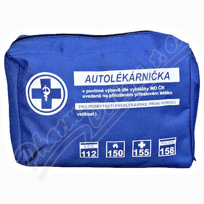 Autolékárnička textil vyhl.č.206/2018 Steriwund