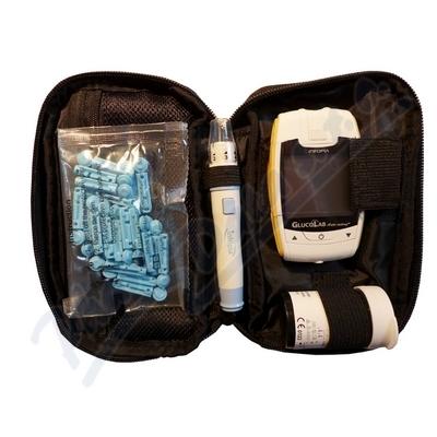 Glukometr GlucoLab 25ks test.proužků+25 lancet