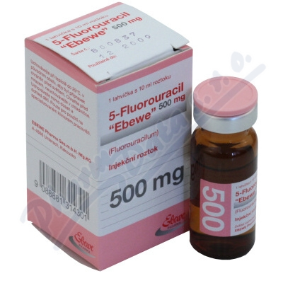 5-Fluorouracil Ebewe inj.1x10ml/500mg