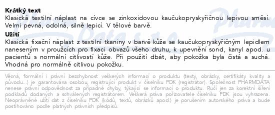 3M Spofaplast Náplast cívková text.132SB 2.5cmx5m