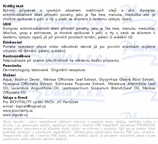 Biovitality Herpesol 8ml
