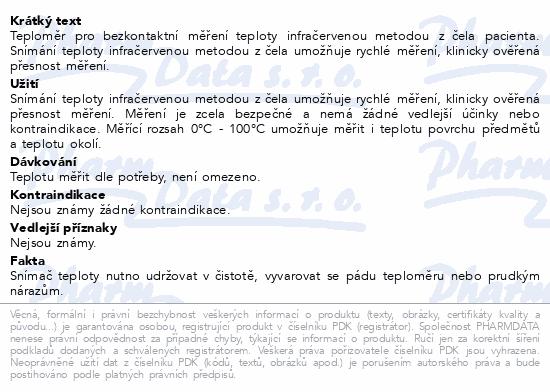 Microlife Teploměr NC 100 dig.infra bezkontaktní