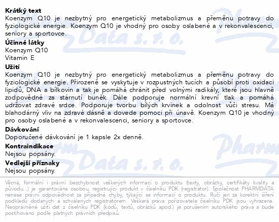 nefdesanté Koenzym Q10 cps.90